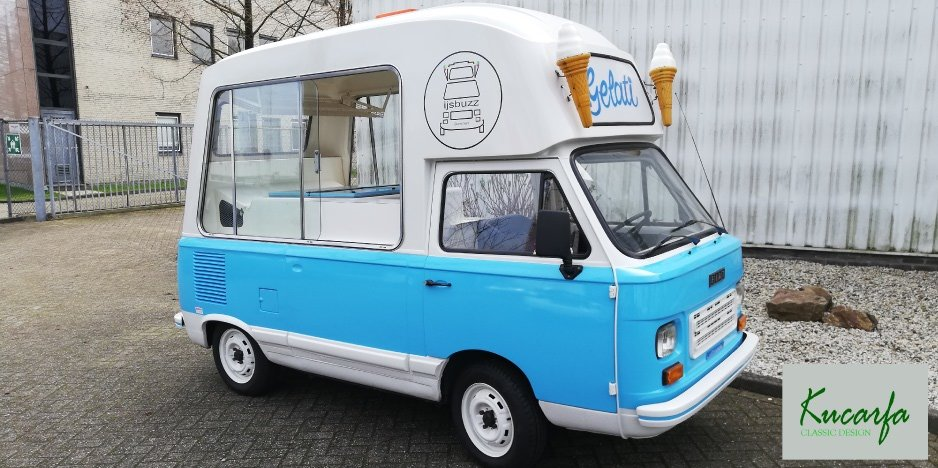 1983 Fiat 900T/E Morrison Ice Cream Van, Foodtruck For Sale (picture 3 of 6)
