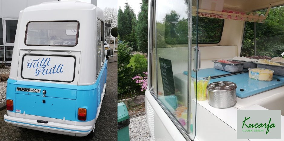 1983 Fiat 900T/E Morrison Ice Cream Van, Foodtruck For Sale (picture 4 of 6)