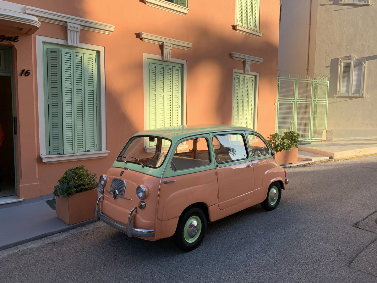 1961 Restored Fiat 600D Multipla For Sale (picture 1 of 6)