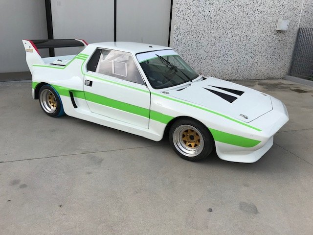 1981 Fiat X1/9 Dallara rolling chassis For Sale (picture 1 of 6)