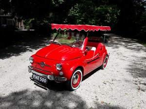 "Picture of Fiat 500 Nuova 1968 Jolly replica ""recreation""  23500 EURO. SOLD"