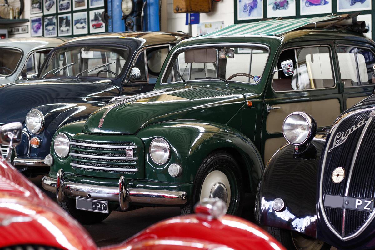 1954 Fiat 500 C Topolino Giardinetta Belvedere SOLD (picture 1 of 6)