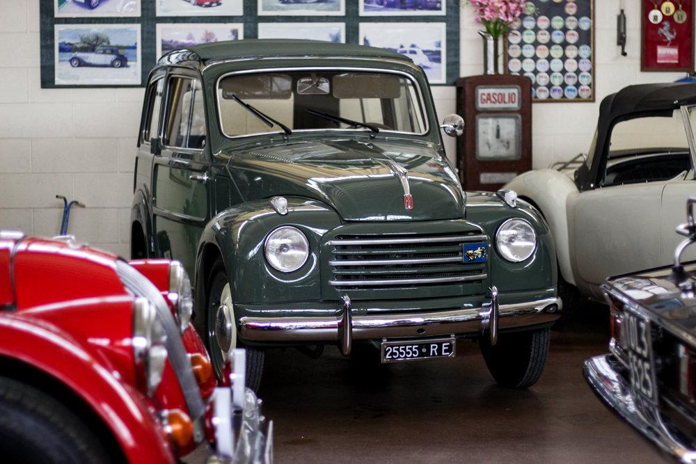 1954 Fiat 500 C Topolino Belvedere For Sale (picture 1 of 6)
