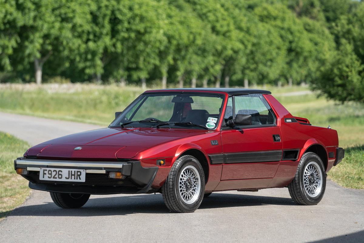 1989 Fiat X1/9 Gran Finale Bertone For Sale (picture 1 of 6)
