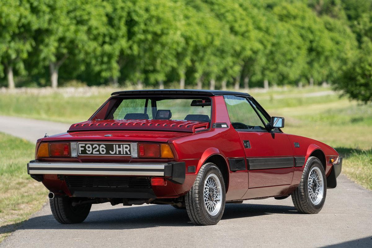 1989 Fiat X1/9 Gran Finale Bertone For Sale (picture 2 of 6)