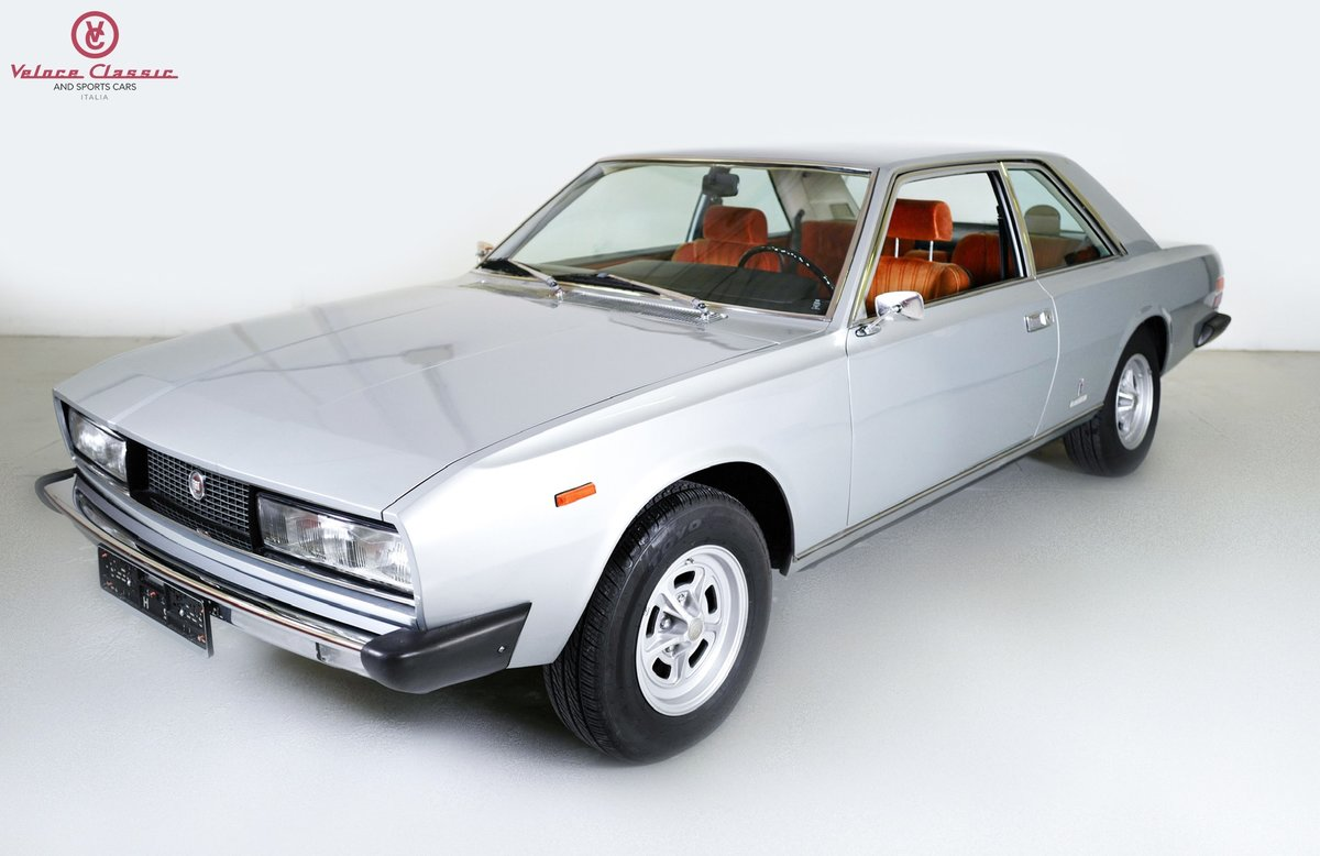1972 Fiat 130 Coupe 3.2 automatic Gold ASI  For Sale (picture 1 of 10)