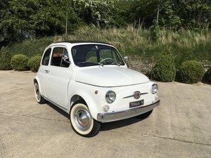 Fiat 500 F Saloon (Nova) 426 Km From New.