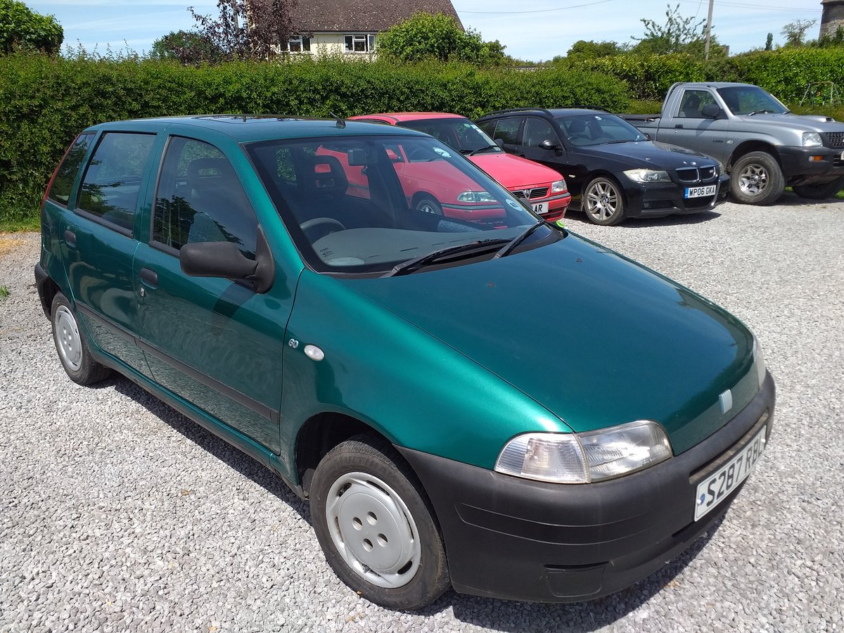 1998 Fiat Punto S 60 Mk1 For Sale (picture 4 of 6)