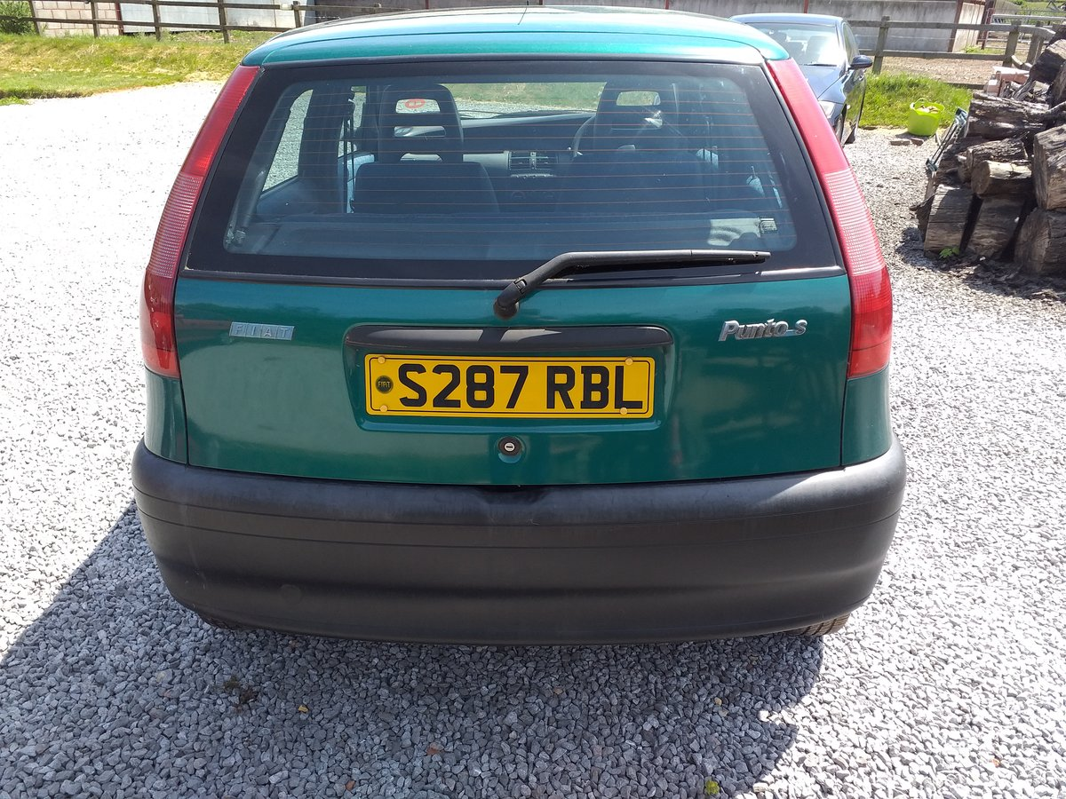 1998 Fiat Punto S 60 Mk1 For Sale (picture 6 of 6)