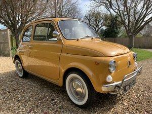 1971 Fiat 500 Lusso Beautiful Restored UK RHD