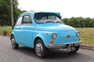 Fiat 500 1970 - To be auctioned 26-06-20