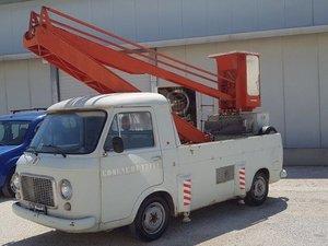 1976  FIAT 238 CON ALLESTIMENTO PIATTAFORMA CON CESTELLO For Sale