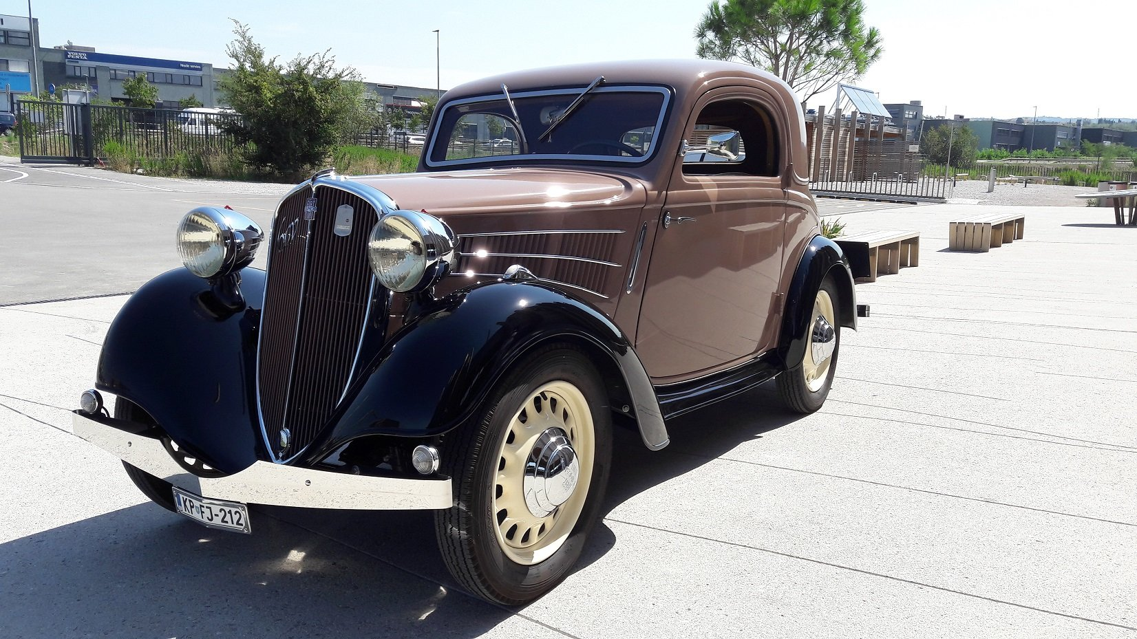 1937 Simca-Fiat 6cv coupe For Sale (picture 1 of 6)