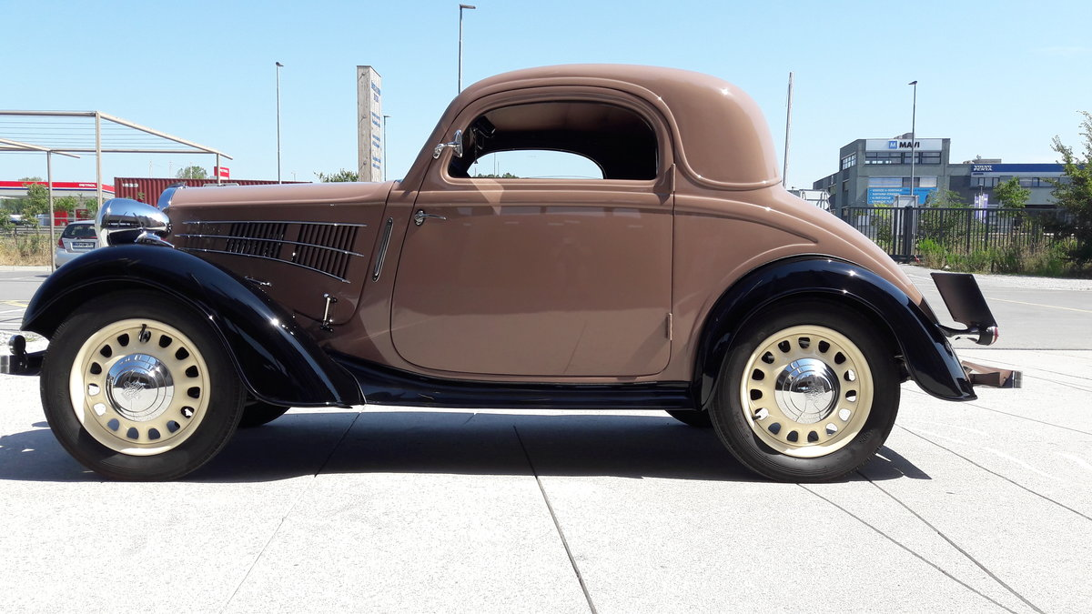 1937 Simca-Fiat 6cv coupe For Sale (picture 2 of 6)