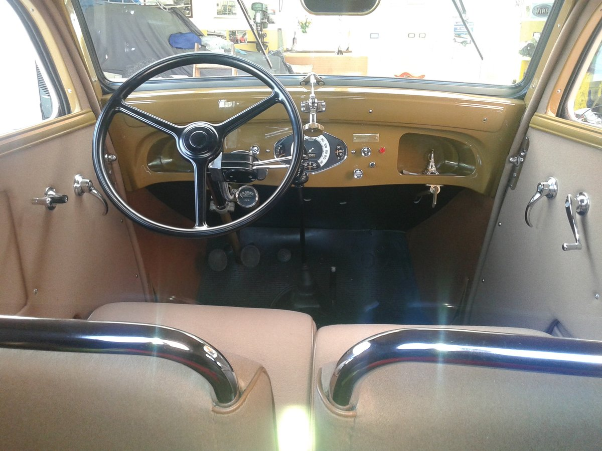 1937 Simca-Fiat 6cv coupe For Sale (picture 4 of 6)