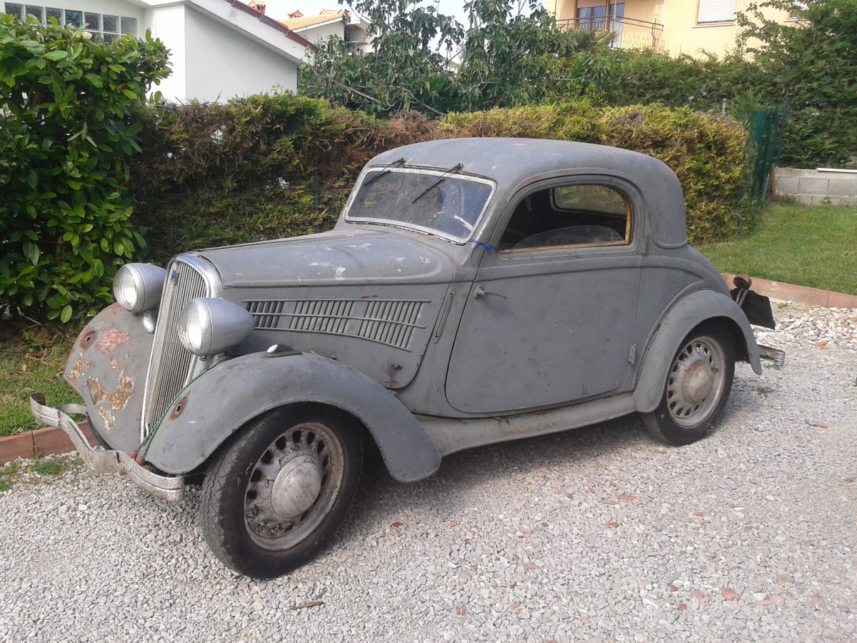 1937 Simca-Fiat 6cv coupe For Sale (picture 6 of 6)