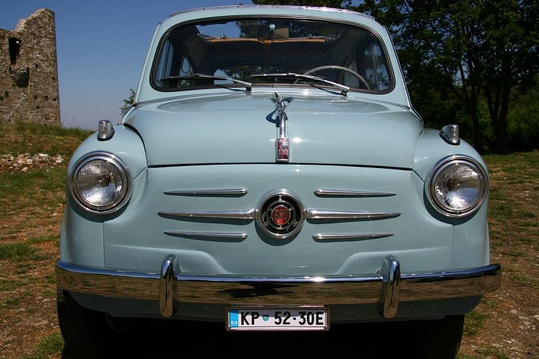 1956 Fiat 600 transformabile For Sale (picture 1 of 6)