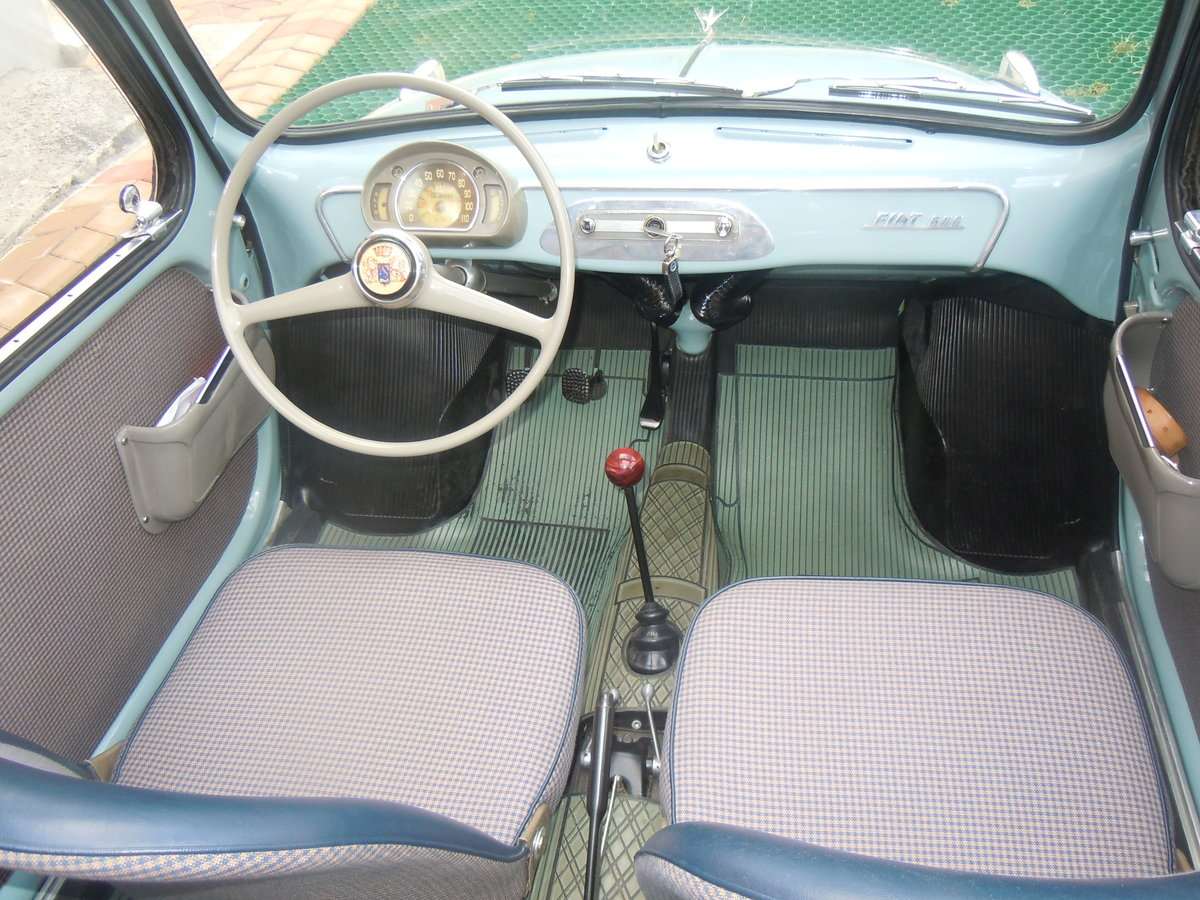 1956 Fiat 600 transformabile For Sale (picture 2 of 6)