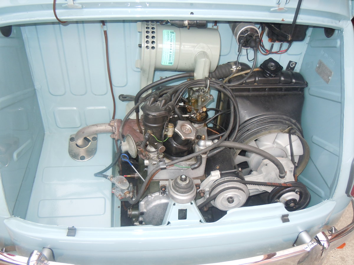 1956 Fiat 600 transformabile For Sale (picture 3 of 6)