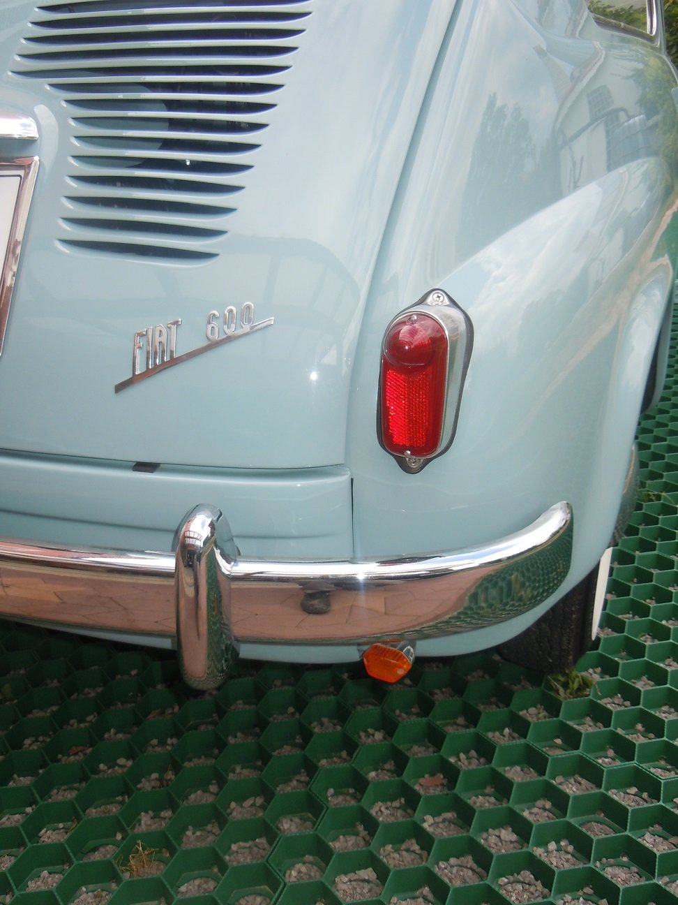 1956 Fiat 600 transformabile For Sale (picture 5 of 6)