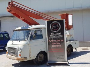 1978 FIAT 241 CON ALLESTIMENTO PIATTAFORMA CON CESTELLO