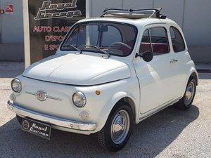1967 FIAT 500F -ASI TARGA ORO- For Sale