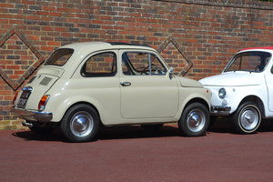1968 Fiat 500F - Right Hand Drive - Round Speedo For Sale