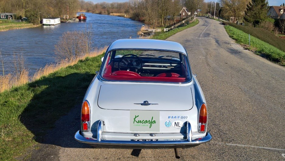 1966 Fiat 1500 Coupe Pininfarina For Sale (picture 4 of 6)