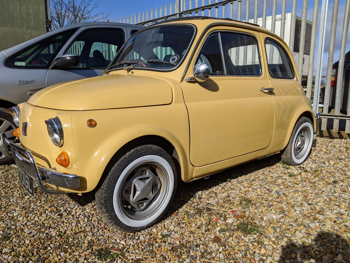 1972 Fiat 500L SOLD (picture 1 of 6)