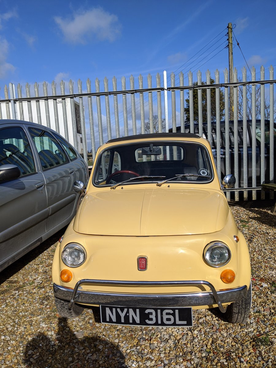 1972 Fiat 500L SOLD (picture 2 of 6)