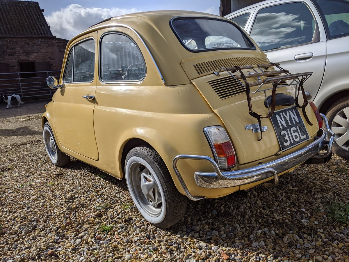 1972 Fiat 500L SOLD (picture 4 of 6)
