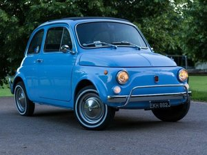 1971 Fiat 500L LHD at ACA 20th June  For Sale