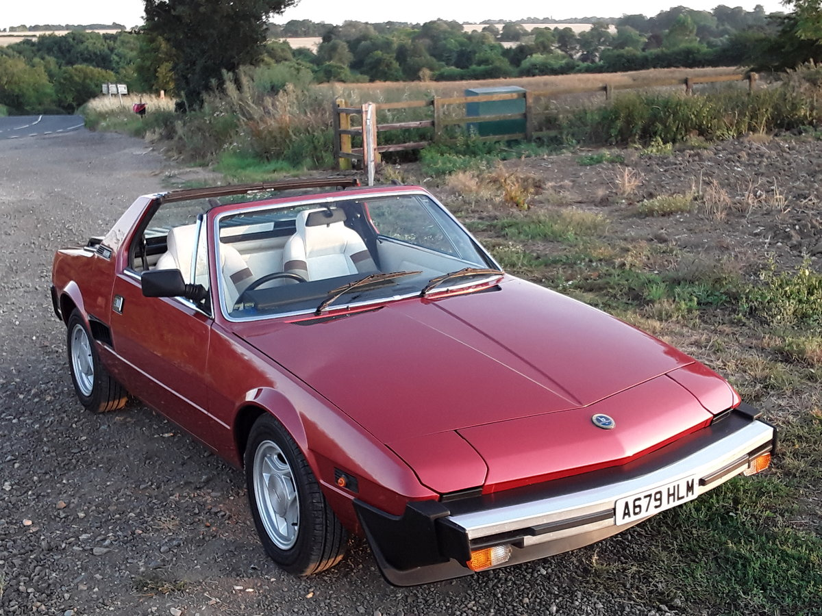 1984 Fiat X1/9 SOLD (picture 1 of 6)