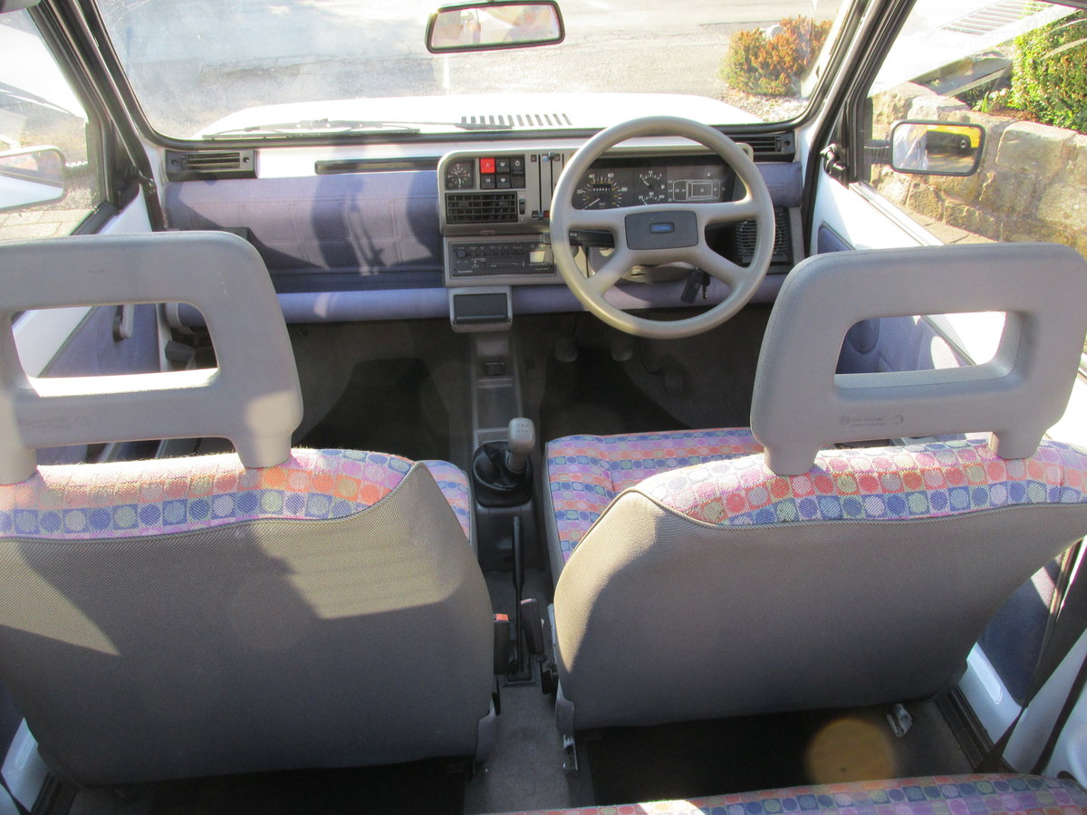 1995 Fiat panda 1000 fire clx NOW SOLD NOW SOLD  SOLD (picture 4 of 6)