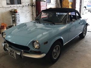 1973 Fiat 124 Sport Spider 1600 LHD at ACA 20th June  For Sale