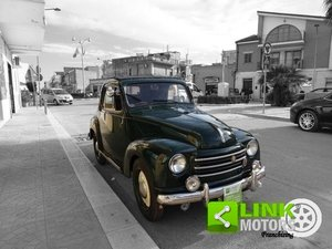 1952 Fiat 500 C Topolino Trasformabile iscritta ASI Targa ORO co