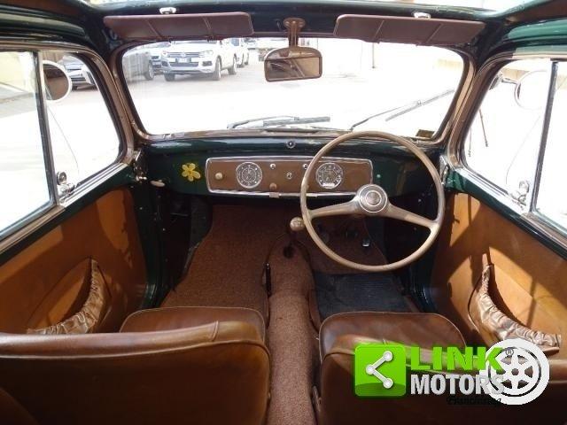1952 Fiat 500 C Topolino Trasformabile iscritta ASI Targa ORO co For Sale (picture 4 of 6)