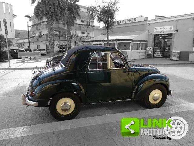 1952 Fiat 500 C Topolino Trasformabile iscritta ASI Targa ORO co For Sale (picture 5 of 6)