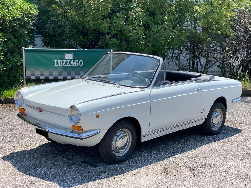 1966 Fiat - 850S Vignale Spider For Sale (picture 1 of 6)