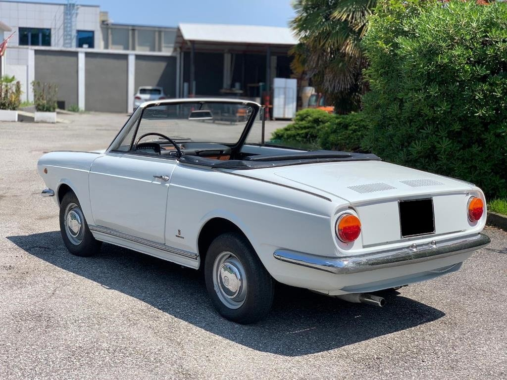 1966 Fiat - 850S Vignale Spider For Sale (picture 2 of 6)