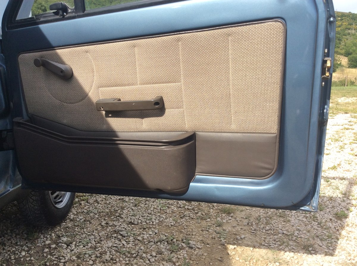 1985 Fiat Panda 45S as new never painted For Sale (picture 5 of 6)
