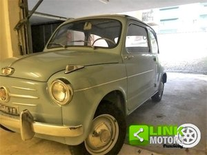 FIAT SEICENTO CABRIO TRASFORMABILE CELESTE 1957 OTTIMO STAT