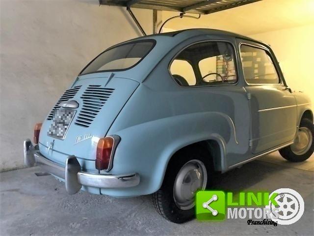 FIAT SEICENTO CABRIO TRASFORMABILE CELESTE 1957 OTTIMO STAT For Sale (picture 6 of 6)