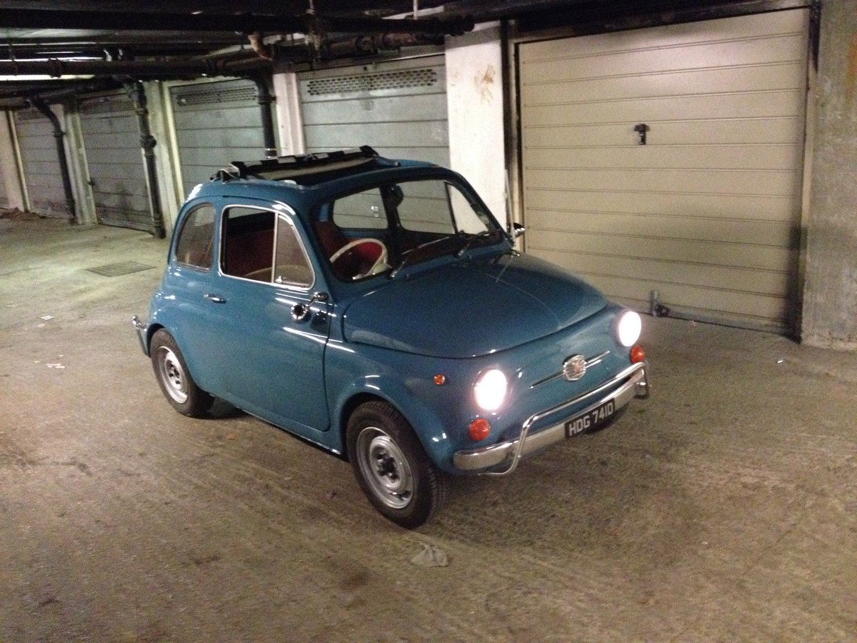 1966 Fiat Nuova 500  RHD 17950miles For Sale (picture 1 of 6)