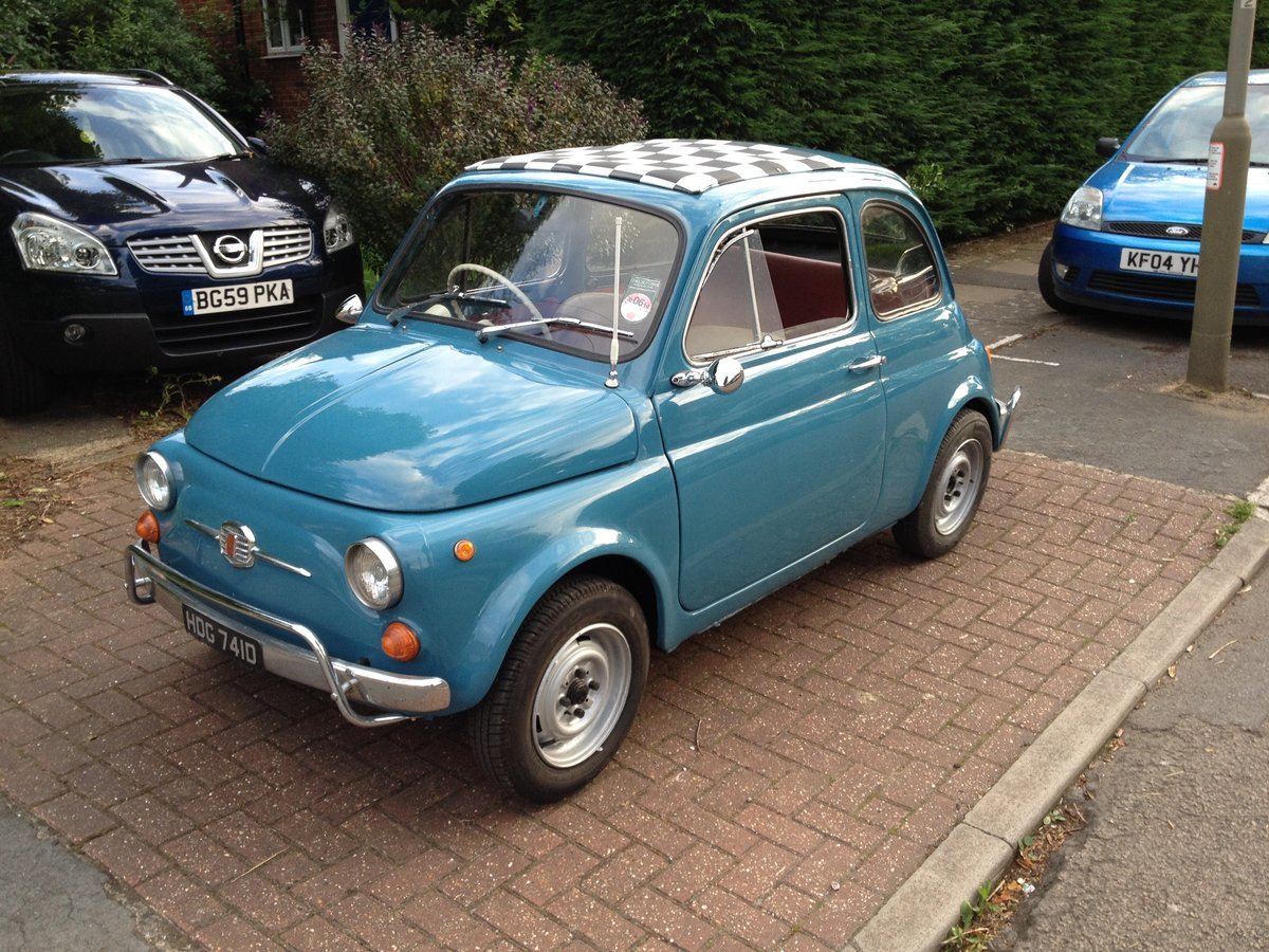 1966 Fiat Nuova 500  RHD 17950miles For Sale (picture 2 of 6)