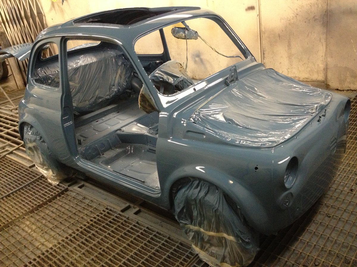 1966 Fiat Nuova 500  RHD 17950miles For Sale (picture 3 of 6)