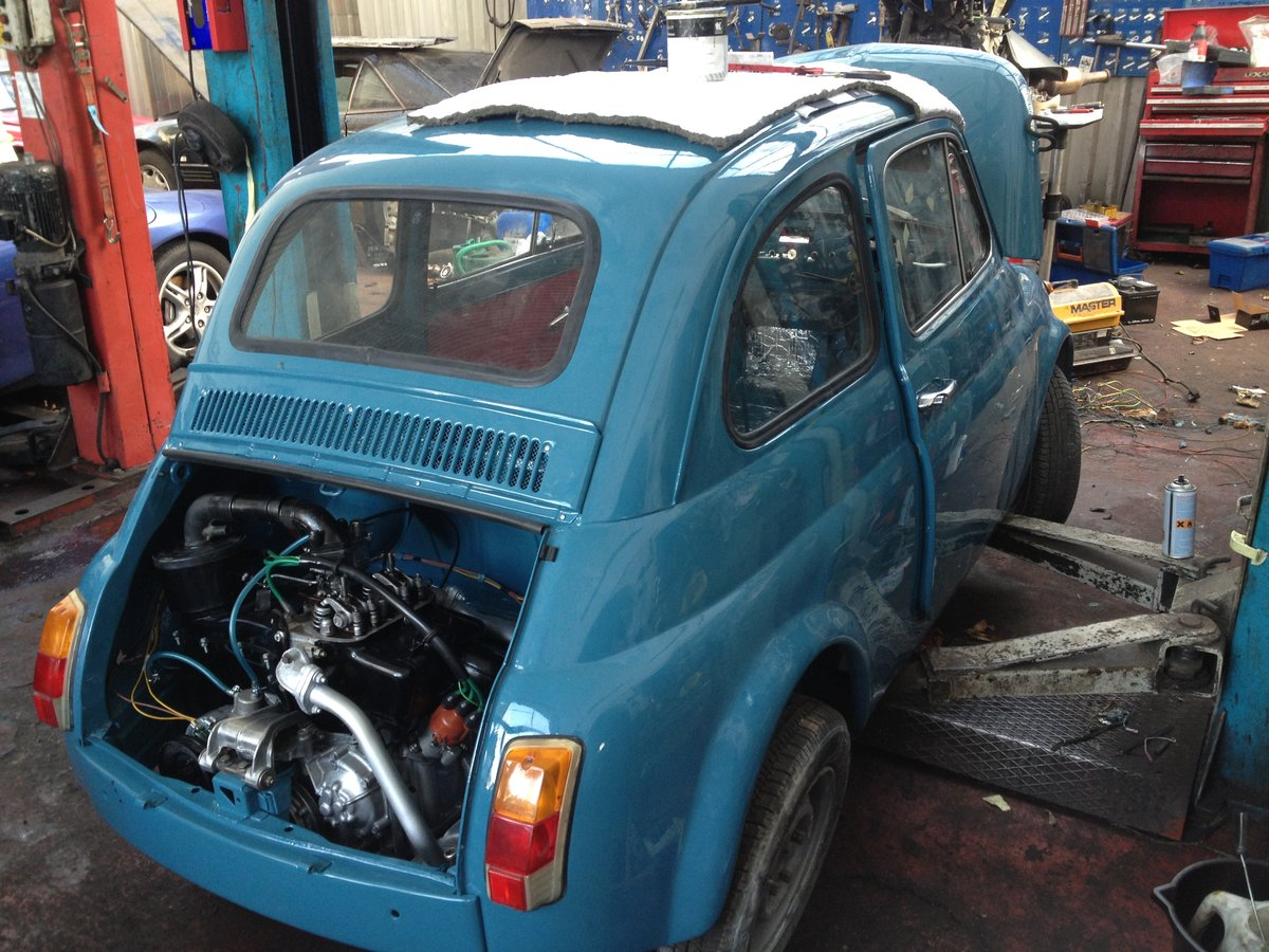 1966 Fiat Nuova 500  RHD 17950miles For Sale (picture 4 of 6)