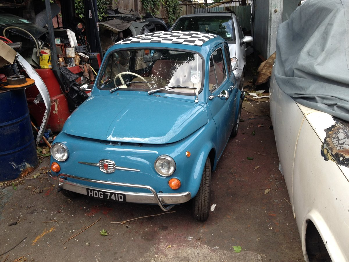 1966 Fiat Nuova 500  RHD 17950miles For Sale (picture 6 of 6)