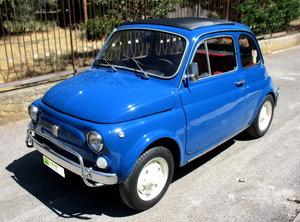 FIAT 500L 'BLUISH' (1970) REPAINTED