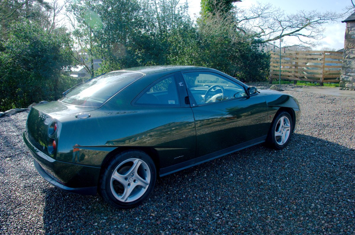 1998 Fiat Coupé 20V Turbo, scots green, one owner SOLD (picture 3 of 6)